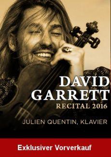 David Garrett | myticket.de