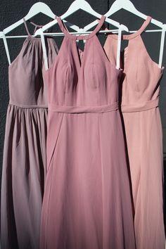 Azazie Bridesmaid Dress Color Comparisons – Which is Which? Dusty Purple Bridesmaid Dresses, Bridesmaid Dresses With Sleeves, Dusty Rose Dress, Azazie Bridesmaid Dresses, Pageant Dresses, Party Dresses, Wedding Colours, Girl Tutu, Entourage