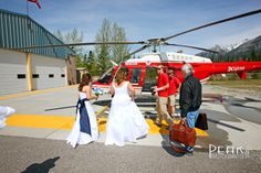 Dawn & Pamela  / May 2012 / Heli-Wedding / Photography by Malcolm Carmichael