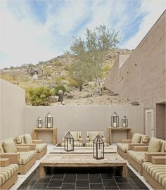 mediterranean style outside decorating 22
