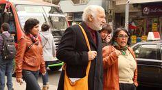 Alfredo Sfeir en visita a Valparaíso y Viña del Mar
