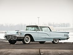 Classic Cars images Ford Thunderbird Hartop Coupe 1960. HD wallpaper ...