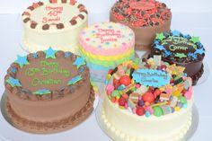 Vanilla Pod Speciality Cakes, red velvet, jaffa mouse, rainbow layer, chocolate mud, chocolate sponge and candy crush cake