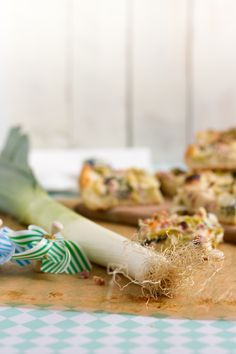 Lauchkuchen mit Speck & Käse I Leek, Bacon & Cheese Quiche I haseimglueck.de