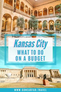 Only have one day in Kansas City? Find out all the top sightseeing spots in this Missouri town | What to do in Kansas City | Kansas City 1-Day Guide | One Day Itinerary | Kansas City Missouri | Foodie Guide Kansas City | Kansas City Museums | Budget Guide | Affordable Sights Kansas City Museum, Road Trip Photography, Rooftop Patio, Kansas City Missouri, Road Trip Essentials, Bucket List Destinations, Union Station, Free Things To Do, Road Trip Usa