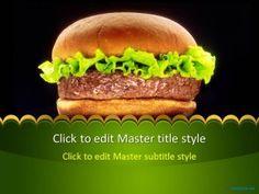 Free Hamburger PPT Template