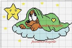 Cute Cross Stitch, Cross Stitch Charts, Cross Stitch Patterns, Baby Mickey Mouse, Mickey Mouse And Friends, Graph Crochet, Craft Museum, Stitch Cartoon, Cross Stitch Collection