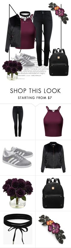 """""""❤Moda 21 Outfit❤"""" by puddingis ❤ liked on Polyvore featuring interior, interiors, interior design, home, home decor, interior decorating, adidas Originals, Glamorous, Boohoo and 1928"""