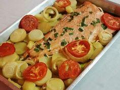 Imagem da receita Salmão no forno