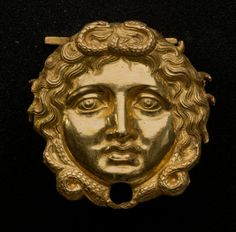 Gorgon Mask, Philip II Tomb (Archaeological Museum of Aegae)