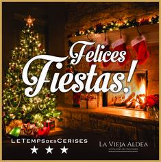 El equipo de Le Temps des Cerises les desea una feliz Navidad y que los encuentre brindando junto a sus seres queridos ! Muchas felicidades !