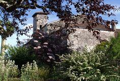 La Romieu - Vue de l'extérieur du village fortifié de Jifasch32