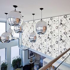 Design Inspiration: bring graphic patterns to architectural accents with ViviGraphix Graphica glass