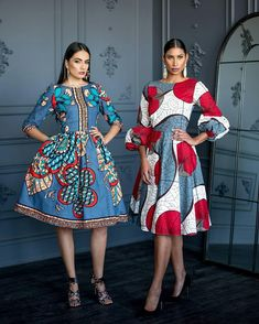 Image may contain: 2 people, people standing African Dresses For Kids, African Print Dresses, African Wear, African Attire, African Fashion Dresses, African Style, Ankara Fashion, African Prints, African Inspired Fashion