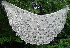 Leccornia by Birgit Freyer.  Knitted in cobweb.
