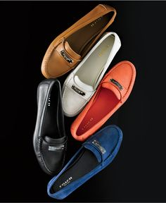 COACH Fredrica Loafer Flats - Flats - Shoes - Macy's