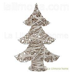 Árbol Navidad artificial abeto blanco 55
