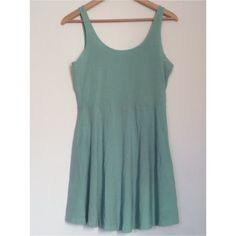 PINK Victoria's Secret Mint Green Skater Dress ACCEPTING OFFERS!!. No trades. Used but excellent condition. Mint/Seafoam green. Cute dress for spring and summer. Can also be used as loungewear. Pair with sandals or flats and a cardigan. Retail $30 PINK Victoria's Secret Dresses Mini