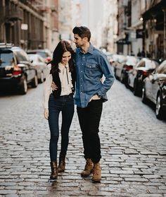 Couple love romance New York