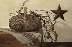 Berry Basket by Billy Jacobs Rusty Star Americana Country in Framed Art Print Picture Framed Art Prints, Fine Art Prints, Poster Prints, Canvas Prints, Posters, Primitive Folk Art, Country Primitive, Primitive Decor, Primitive Bedroom