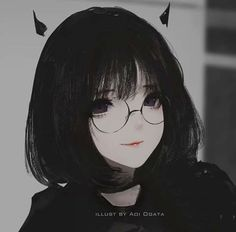 some aesthetic pics, anime themed, gore etc. Black Hair Anime Girl, Cool Anime Girl, Beautiful Anime Girl, Kawaii Anime Girl, Anime Art Girl, Anime Girls, Manga Girl, Manga Anime, Anime Chibi