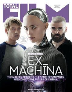 ex_machina movie on Total Film magazine cover