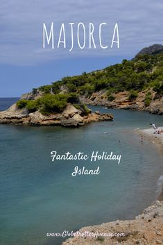 There are still many beaches left with few tourists, such as S'illot Beach in North Mallorca...#Majorca #Travel #vacation #traveltips