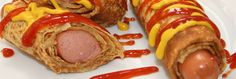 Hot Dog Crepe
