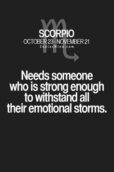 Scorpio Moon-I have always been a storm.