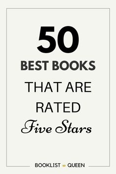 If you are looking for books worth five stars, you can't beat these best books to read. You'll find discussion worthy book club books, thoughtful nonfiction books, books recommendations for women and men. Find all of the booklist queen's favorite books.