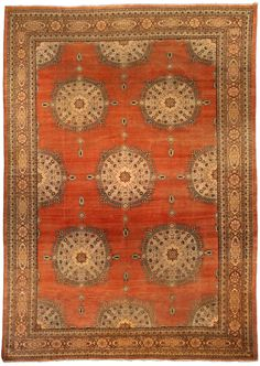 A Persian Tabriz rug BB4279 - by Doris Leslie Blau.