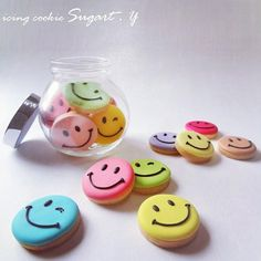 """Cookies By Gifted Hands  on Instagram: """"For every smile, you will get a smiley token  Simple yet colorful idea by @icingcookie.sugart Share your creations with #cookiesbygiftedhands #cookiesbygiftedhands #cookies #icingcookies #cookiesalbum #cookiescompilation #cookiesdesign #cookiesasgifts #sayitwithcookies #customcookies #birthdaycookies #icingcookies #sugarcookies #decoratedcookies #edibleart #smiley #emoticon"""""""