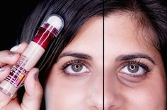 26 Inexpensive Beauty Products That Are Better Than The Expensive Versions Maybelline instant age rewind concealer, doesn't settle in wrinkles & brightens up eye area. Maybelline Age Rewind Concealer, Instant Age Rewind Concealer, Skin Makeup, Beauty Makeup, Hair Beauty, Beauty Secrets, Beauty Hacks, Beauty Products, Beauty Tips