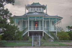 Louisiana Steamboat House