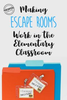 Escape Classrooms in the Elementary Classroom Making Escape Rooms Work in the Elementary Classroom (Grades Escape from Emoji Island™️ Escape The Classroom, Flipped Classroom, Future Classroom, School Classroom, Classroom Activities, Classroom Organization, Classroom Ideas, Leadership Activities, Group Activities