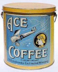 Antique tins from Maple Leaf Auctions