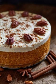 Healthy Desserts, Healthy Recipes, Healthy Food, Good Food, Yummy Food, Yummy Yummy, Biscuit Cake, Sem Lactose, Vegan Cake