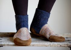 Wool Slippers by WoolyBaby