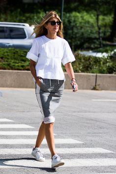 stan smith adidas skirt white top New York fashion week september 2015 settembre NYFW_SS2016_day5_sandrasemburg-20150914-1140