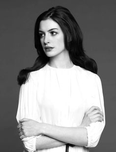 12/4/12 . . . I'm such a fan of Anne Hathaway. Beautiful, talented, and classic. A modern Audrey.