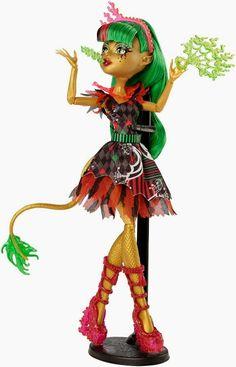 Jinafire Long Freak du Chic Monster High Doll, 2015 (I bought her at Walmart for $18.)