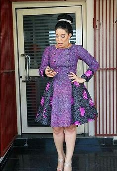 Awesome latest african fashion look . Short African Dresses, Ankara Short Gown Styles, African Inspired Fashion, Latest African Fashion Dresses, African Print Dresses, Ankara Fashion, African Traditional Dresses, African Attire, Casual