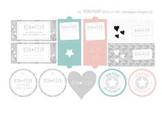 """Hello June: Des """"bon pour"""" à imprimer ! Modern Christmas, Christmas Diy, Hello June, Cricut Print And Cut, Crafts For Kids, Diy Crafts, Diy Décoration, Holiday Gift Tags, Sell Diy"""