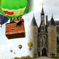 31  mai 6h du matin decollage du Château du Moulin Conservatoire de la Fraise  (si la météo  est bonne) Ouvert 7j7 de 10h à 12h30 et de 14h à 18h30 jusqu'au 30 septembre.  A 30mn de Chambord et du Zooparc de Beauval  www.chateau-moulin-fraise.com  #coeurvaldeloir #OTvaldechersaintaignan #loiretcher #sologne #MagnifiqueFrance #patrimoine #france