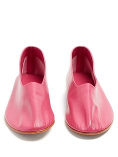 Glove leather flats   Martiniano Leather Flats, Leather Gloves, Imelda  Marcos, Pretty Shoes 5cdaa572b6