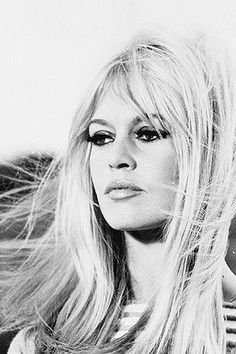 "Brigitte Bardot ""...Only to sing in sunset's fading ray"""