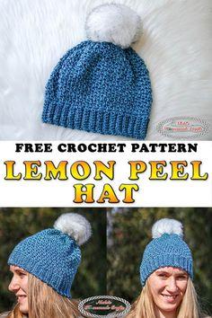 f6fcf1d7edd 183 Best Crochet Hat Patterns   Crochet Ear Warmer Patterns images ...