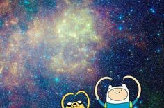 Adventure time galaxy!!