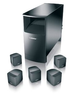 The Acoustimass 6 Series III home entertainment speaker system puts high-performance sound for music and movies well within reach. Proprietary #Bose technology b...