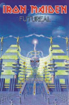 Portada Iron Maiden futureal alternativa